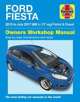 Ford Fiesta Haynes Repair Manual - Petrol & Diesel 2013 - 17