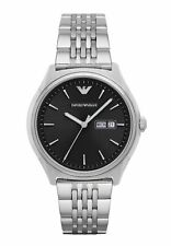 Emporio Armani AR1977 Men's Watch Silver 43mm Stainless Steel