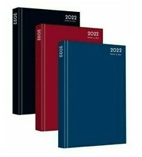 More details for 2022 a4 / a5 / a6 diary day a page or week to view desk diary hard backed dairy