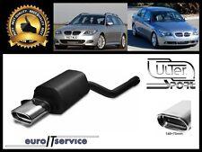 SILENCIEUX POT D'ECHAPPEMENT BMW 5 E60  E61 2003-2007 2008 2009 2010 TIP 145x75