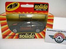 """FORD Sierra xr4i COSWORTH TEXACO"""""""" 1985, solido (made in France) 1:43, OVP"""