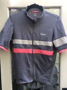 Rapha Short Sleeve Brevet Lightweight Jersey, Medium, Grey Colour, Men's