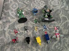 Power Rangers Lot Micro Machines Hero World Green Ranger Zords