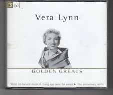 (HN250) Vera Lynn, Golden Greats - 2001 triple CD