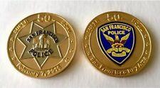 SUPER BOWL 50 NFL SAN FRANCISCO POLICE CHALLENGE COIN DENVER MVP MILLER MANNING