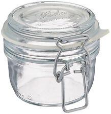 Glass Clear Jar Storage Jam Food Preserving Container Shock Resistant 4.25 Oz