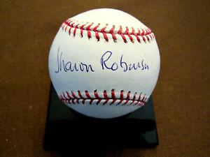RACHEL ROBINSON SHARON JACKIES WIFE & DAUGHTER DODGERS SIGNED AUTO BASEBALL JSA