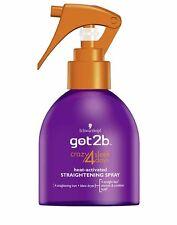 Schwarzkopf Got2b CRAZY 4 Days Sleek Straightening Spray 200ml