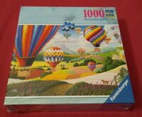 "New Ravensburger 1000 Piece Puzzle. ""Brilliant Balloons"". Approx. 27"" X 20""...."