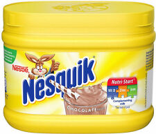 NESQUIK CHOCOLATE FLAVOUR MILKSHAKE POWDER...300G TUB
