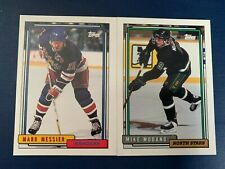 1992-93 Topps Hockey Card #s 201-500 + Rookies  - You Pick The Card