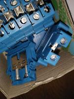 Phönix Contakt UK16 blau Art.3006098 Durchgangsklemme Reihenklemme Schraubklemme
