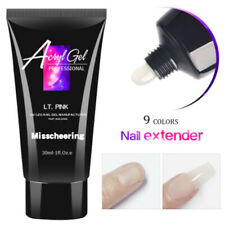 30ml Poly UV Gel Ongle Construction Extension Nail Art Manucure Tips Builder