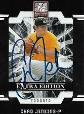 Chad Jenkins Toronto Blue Jays 2009 Donruss Elite Signed Card