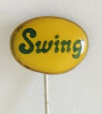 Swing Brand Yugoslavia Small Lapel Pin Badge Rare Vintage (J4)