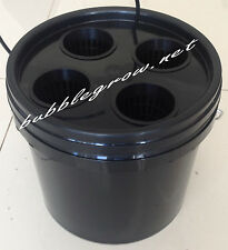 Bubble Grow BUCKET 4 Hydroponic System DWC Bubbleponic Plant Growing Kit Bubbler