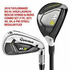 TAYLORMADE M2 HL RESCUE/IRONS COMBO SET 4H, 5H, 6-PW (7 PCS) STEEL REGULAR 20237