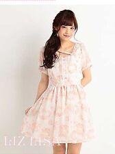 Liz Lisa Original Dress Super Cute Pink Color With Front Bow . Sale!