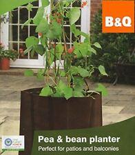 B&Q Square Planter Bag for Pea & Bean Vegetables Crops Flower Plant Herbs