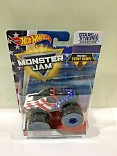 Hot Wheels Monster Jam 2018 Stars and Stripes Soldier Fortune 1 64 Scale