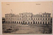 2039 AK Libau Bahnhof PC Railway Station 11.12.1917