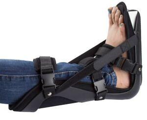2 x New Adjustable Foot Dorsal Night Splint - Soft Light  Plantar Fasciitis