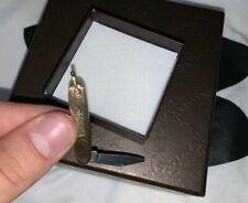 super rare Antique  14kt GOLD Pocket Knife fob,  Mini Pendent Knife Collector 🔥