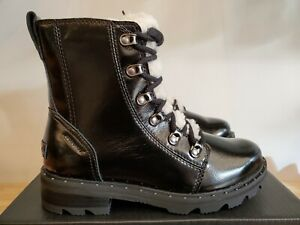 Sorel Lennox Lace Cozy Winter Waterproof Patent Leather Boots for Women
