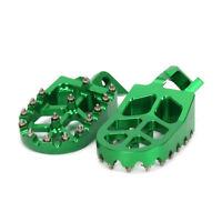 CNC Foot Pegs Pedals Rests Footpegs For Kawasaki KX125 KX250 KX500 Motorcross