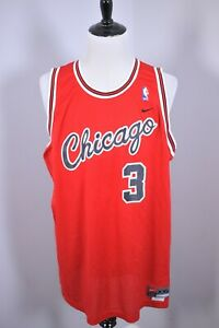 Nike Tyson Chandler Stitched Chicago Bulls Jersey Red Men's XXL +2