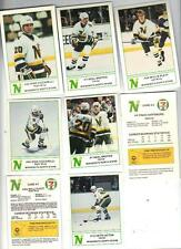 1984-85 & 85-86 North Stars 7-Eleven Hockey Fire Safety Sets