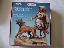 Figurine kit. 54mm Soldiers. Carthaginois et chien de guerre. 219-202 avant JC.