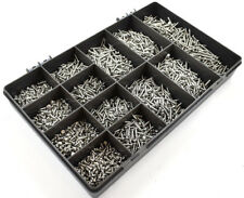 2050 ASSORTED 4g A4 MARINE STAINLESS STEEL SLOT PAN HEAD SELF TAPPING SCREW KIT