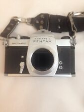 Honeywell Pentax Spotmatic F 35mm SLR Film Camera Body Only Parts or Repair.