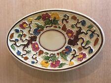 H J Wood Potters Of Burslem Indian Tree Oval Platter/Shallow Dish