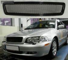 Para Volvo S40 V40 MK1 V Frontal Negro Parrilla Rejilla de deporte debadgeless debadged Capucha