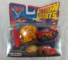 Disney Pixar Cars 2 Action Agents Flash Lightning McQueen Vehicle. Mattel