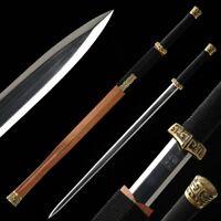 Sharp LongYuan Magic sword Folded Pattern Steel Blade with Hand Polishing #1149