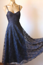 PRETTY! VINTAGE 80's LACE STRING DINNER PARTY DRESS 10