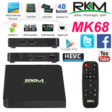 Rikomagic MK68 4K Octa Core RK3368 64bit Android 5.1 TV Box 2G 16G H.265 Mini PC