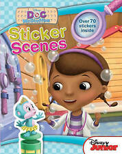 DOC Mcstuffins Sticker Activity Book - New - over 70 Stickers