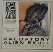 Grey Zone Predator Skull Resin Model Nib