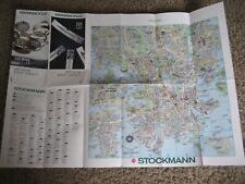 HELSINKI Finland, Tourist Guide With Map, STOCKMANN, 1997
