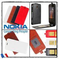 Etui housse coque Clapet Flip Cuir PU Leather Case Stand Wallet Cover Nokia 1