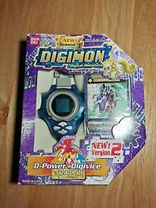 Digimon Digivice D-power transparent Blue Version 2