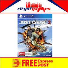 Just Cause 3 PS4 Brand New & Sealed In Stock Free Express Post