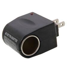 Car Adapter Converter 110V-240V AC to 12V DC Cigarette Lighter Socket Charger US