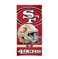 San Francisco 49 ers NFL Football Strandtuch,Badetuch Beach Towel,Helm Logo