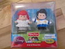 Fisher Price Little People Disney Princess Exclusive Wedding Ariel Prince Eric