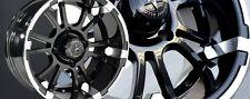 "Set of (4) Fairway Alloys 12"" Sixer FA132 FA 132 Golf Cart Car Rims Wheels"